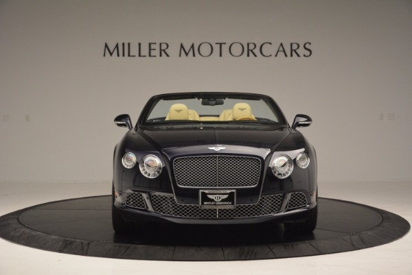 Used 2012 Bentley Continental GTC for sale Sold at Pagani of Greenwich in Greenwich CT 06830 12