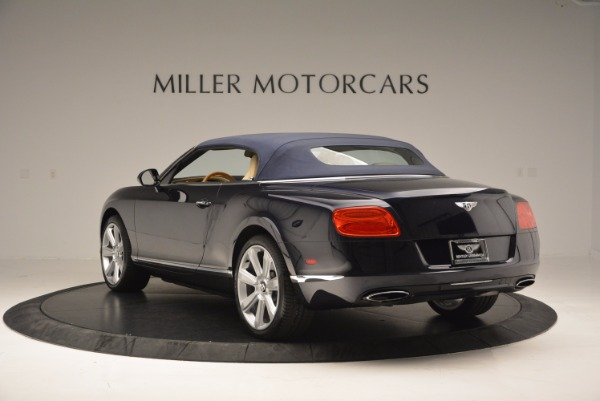 Used 2012 Bentley Continental GTC for sale Sold at Pagani of Greenwich in Greenwich CT 06830 18