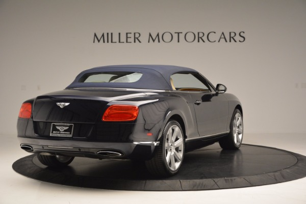 Used 2012 Bentley Continental GTC for sale Sold at Pagani of Greenwich in Greenwich CT 06830 20