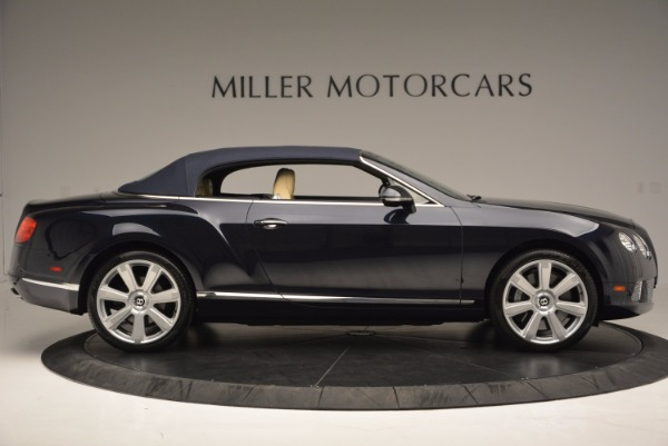 Used 2012 Bentley Continental GTC for sale Sold at Pagani of Greenwich in Greenwich CT 06830 22