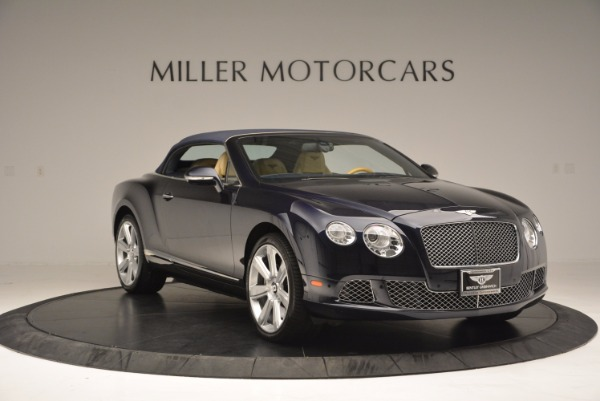 Used 2012 Bentley Continental GTC for sale Sold at Pagani of Greenwich in Greenwich CT 06830 24