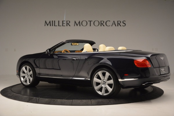 Used 2012 Bentley Continental GTC for sale Sold at Pagani of Greenwich in Greenwich CT 06830 4