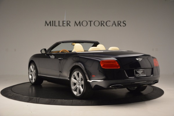 Used 2012 Bentley Continental GTC for sale Sold at Pagani of Greenwich in Greenwich CT 06830 5