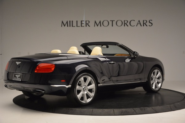Used 2012 Bentley Continental GTC for sale Sold at Pagani of Greenwich in Greenwich CT 06830 8