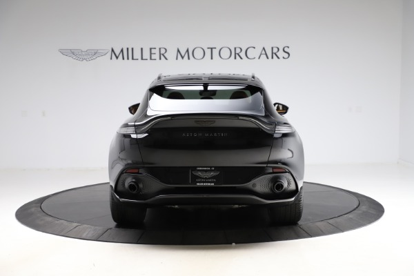New 2020 Aston Martin DBX SUV for sale Call for price at Pagani of Greenwich in Greenwich CT 06830 5