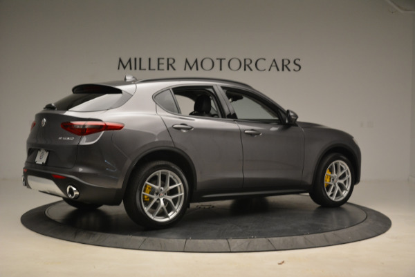 New 2018 Alfa Romeo Stelvio Sport Q4 for sale Sold at Pagani of Greenwich in Greenwich CT 06830 8