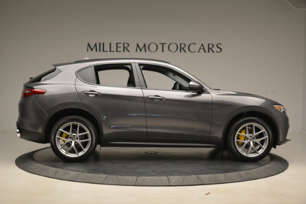 New 2018 Alfa Romeo Stelvio Sport Q4 for sale Sold at Pagani of Greenwich in Greenwich CT 06830 9