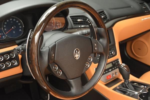 Used 2012 Maserati GranTurismo for sale Sold at Pagani of Greenwich in Greenwich CT 06830 24