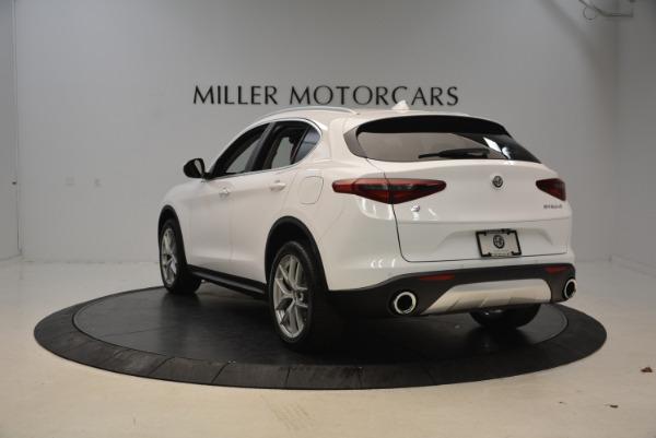 New 2018 Alfa Romeo Stelvio Q4 for sale Sold at Pagani of Greenwich in Greenwich CT 06830 5