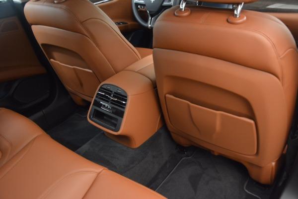 New 2018 Maserati Quattroporte S Q4 GranLusso for sale Sold at Pagani of Greenwich in Greenwich CT 06830 22