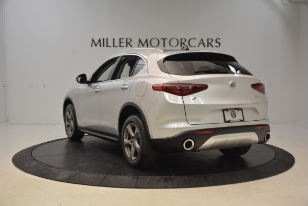 New 2018 Alfa Romeo Stelvio Q4 for sale Sold at Pagani of Greenwich in Greenwich CT 06830 5