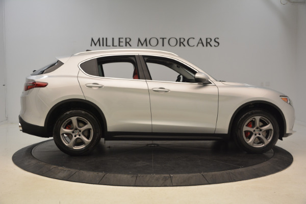 New 2018 Alfa Romeo Stelvio Q4 for sale Sold at Pagani of Greenwich in Greenwich CT 06830 9