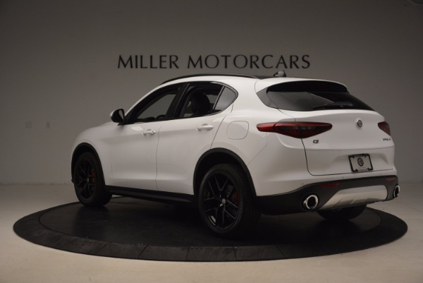 New 2018 Alfa Romeo Stelvio Sport Q4 for sale Sold at Pagani of Greenwich in Greenwich CT 06830 5