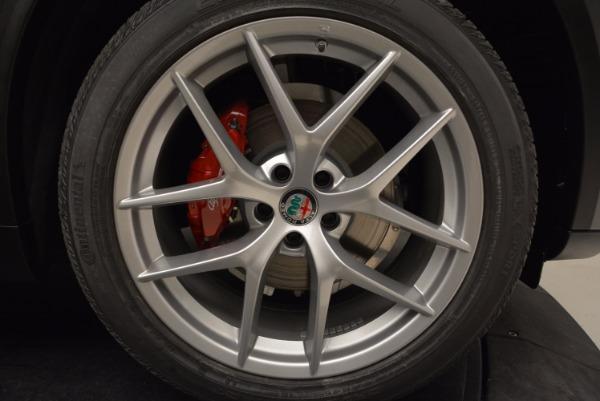 New 2018 Alfa Romeo Stelvio Ti Sport Q4 for sale Sold at Pagani of Greenwich in Greenwich CT 06830 25
