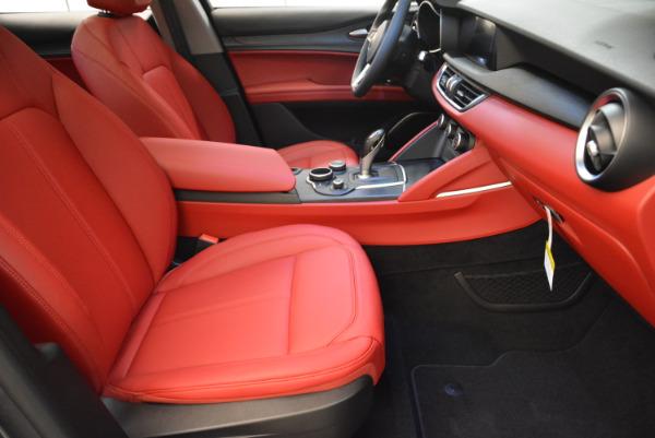 New 2018 Alfa Romeo Stelvio Q4 for sale Sold at Pagani of Greenwich in Greenwich CT 06830 17