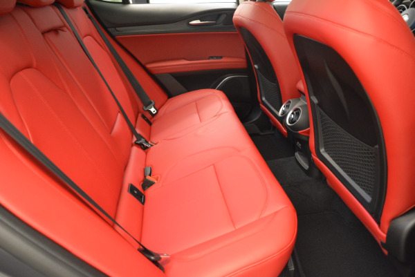 New 2018 Alfa Romeo Stelvio Q4 for sale Sold at Pagani of Greenwich in Greenwich CT 06830 20