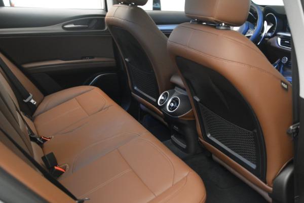 New 2018 Alfa Romeo Stelvio Sport Q4 for sale Sold at Pagani of Greenwich in Greenwich CT 06830 19