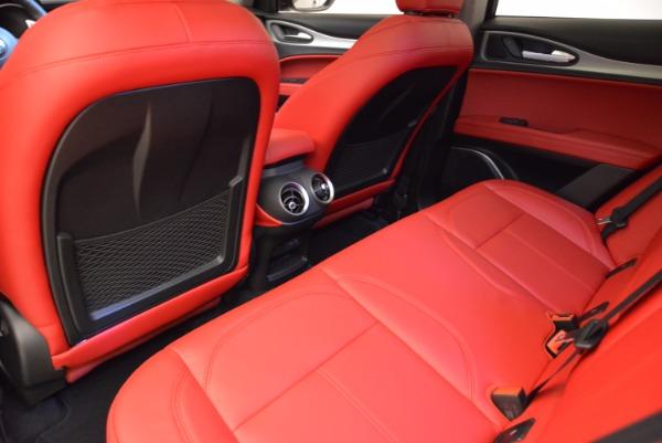 New 2018 Alfa Romeo Stelvio Sport Q4 for sale Sold at Pagani of Greenwich in Greenwich CT 06830 16