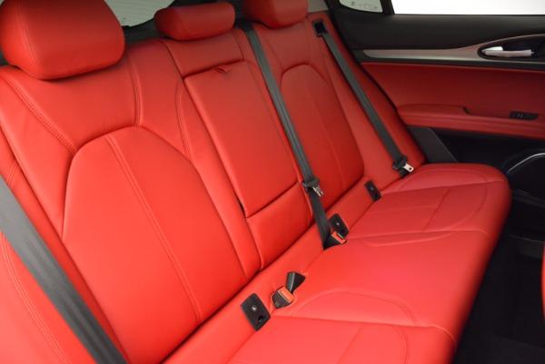 New 2018 Alfa Romeo Stelvio Sport Q4 for sale Sold at Pagani of Greenwich in Greenwich CT 06830 24