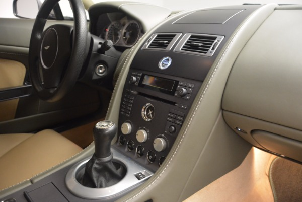 Used 2006 Aston Martin V8 Vantage for sale Sold at Pagani of Greenwich in Greenwich CT 06830 16