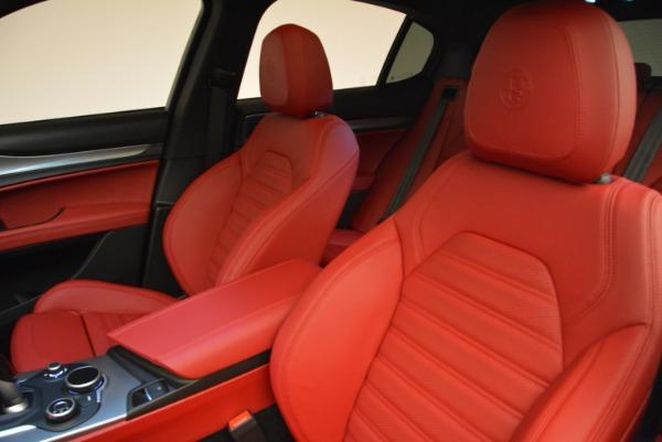 New 2018 Alfa Romeo Stelvio Ti Q4 for sale Sold at Pagani of Greenwich in Greenwich CT 06830 15