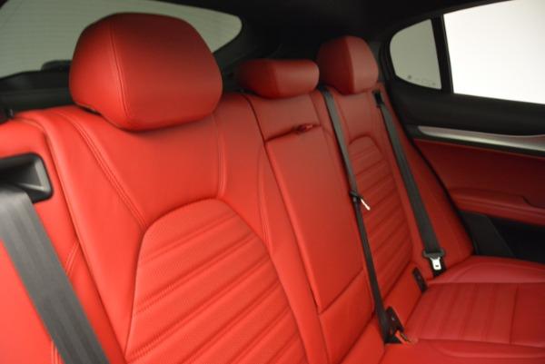 New 2018 Alfa Romeo Stelvio Ti Q4 for sale Sold at Pagani of Greenwich in Greenwich CT 06830 24