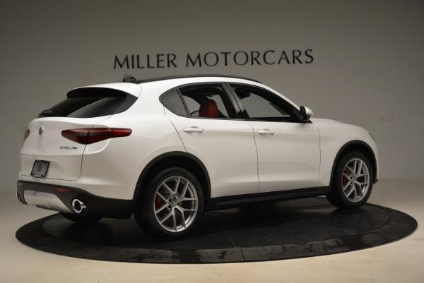 New 2018 Alfa Romeo Stelvio Ti Q4 for sale Sold at Pagani of Greenwich in Greenwich CT 06830 8