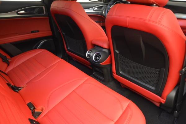 New 2018 Alfa Romeo Stelvio Ti Sport Q4 for sale Sold at Pagani of Greenwich in Greenwich CT 06830 22