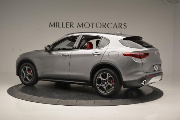 New 2018 Alfa Romeo Stelvio Sport Q4 for sale Sold at Pagani of Greenwich in Greenwich CT 06830 3