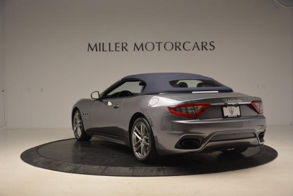 Used 2018 Maserati GranTurismo Sport Convertible for sale Sold at Pagani of Greenwich in Greenwich CT 06830 10