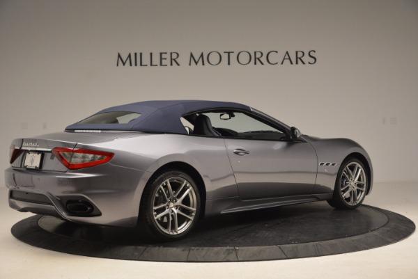 Used 2018 Maserati GranTurismo Sport Convertible for sale Sold at Pagani of Greenwich in Greenwich CT 06830 16