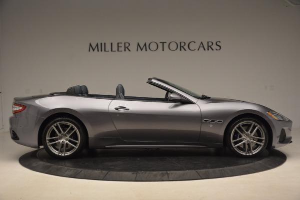 Used 2018 Maserati GranTurismo Sport Convertible for sale Sold at Pagani of Greenwich in Greenwich CT 06830 17