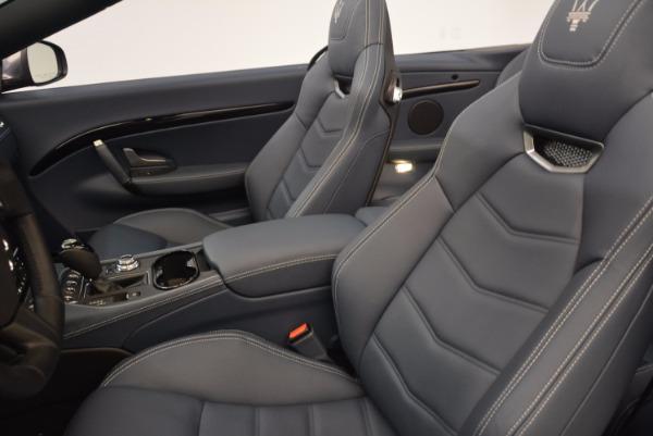 Used 2018 Maserati GranTurismo Sport Convertible for sale Sold at Pagani of Greenwich in Greenwich CT 06830 26