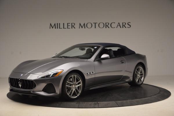 Used 2018 Maserati GranTurismo Sport Convertible for sale Sold at Pagani of Greenwich in Greenwich CT 06830 4