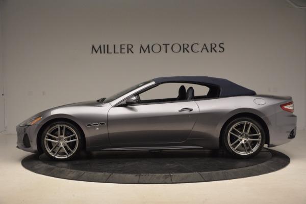 Used 2018 Maserati GranTurismo Sport Convertible for sale Sold at Pagani of Greenwich in Greenwich CT 06830 6