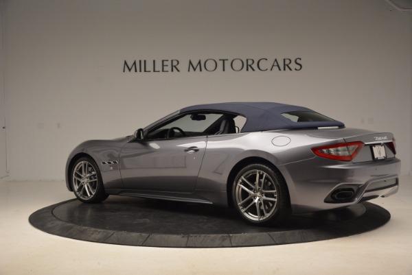 Used 2018 Maserati GranTurismo Sport Convertible for sale Sold at Pagani of Greenwich in Greenwich CT 06830 8