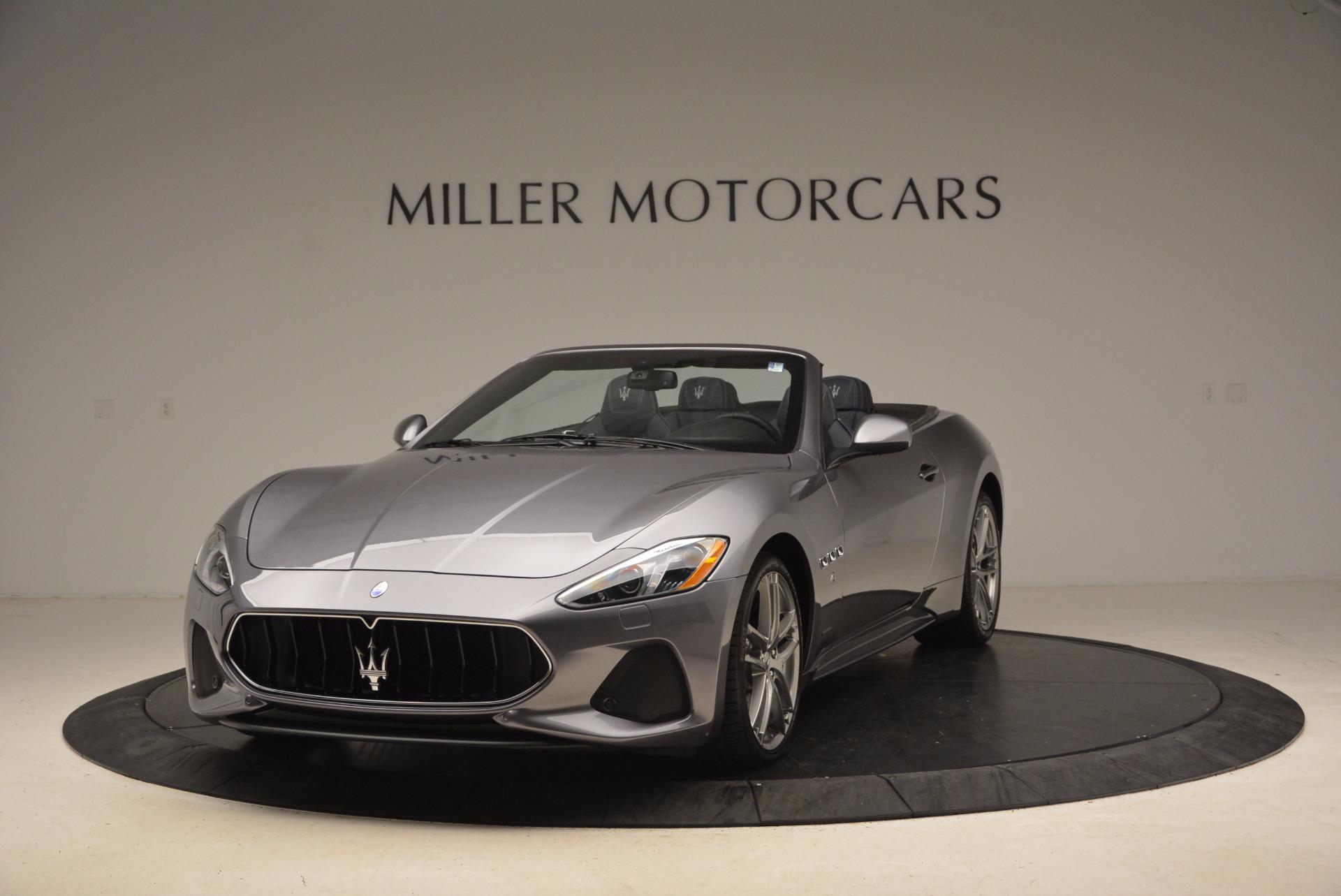 Used 2018 Maserati GranTurismo Sport Convertible for sale Sold at Pagani of Greenwich in Greenwich CT 06830 1