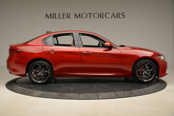New 2018 Alfa Romeo Giulia Ti Sport Q4 for sale Sold at Pagani of Greenwich in Greenwich CT 06830 9