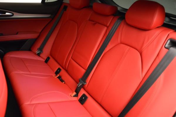 New 2018 Alfa Romeo Stelvio Sport Q4 for sale Sold at Pagani of Greenwich in Greenwich CT 06830 18
