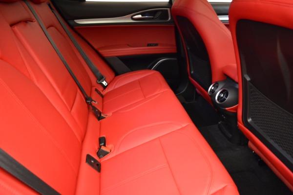 New 2018 Alfa Romeo Stelvio Sport Q4 for sale Sold at Pagani of Greenwich in Greenwich CT 06830 23