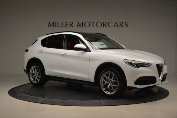 New 2018 Alfa Romeo Stelvio Sport Q4 for sale Sold at Pagani of Greenwich in Greenwich CT 06830 10