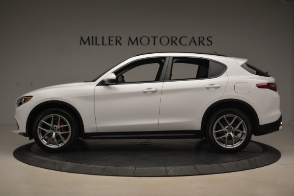 New 2018 Alfa Romeo Stelvio Sport Q4 for sale Sold at Pagani of Greenwich in Greenwich CT 06830 3