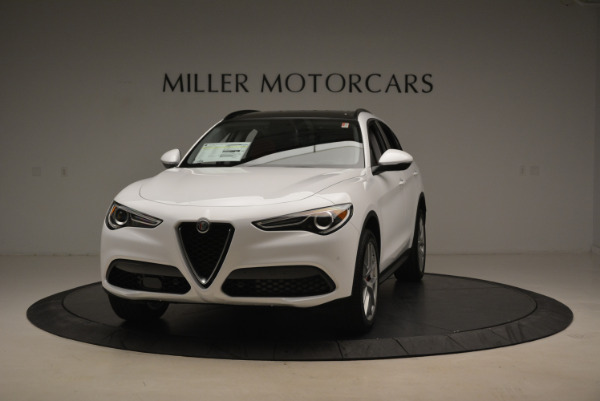 New 2018 Alfa Romeo Stelvio Sport Q4 for sale Sold at Pagani of Greenwich in Greenwich CT 06830 1
