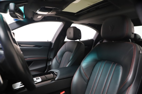 New 2016 Maserati Ghibli S Q4 for sale Sold at Pagani of Greenwich in Greenwich CT 06830 15