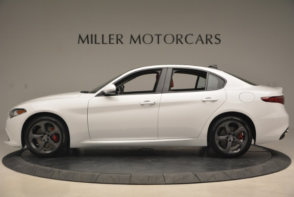 New 2018 Alfa Romeo Giulia Sport Q4 for sale Sold at Pagani of Greenwich in Greenwich CT 06830 3