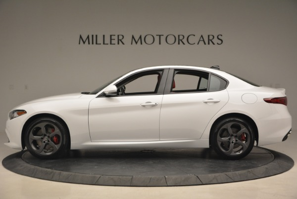 New 2018 Alfa Romeo Giulia Sport Q4 for sale Sold at Pagani of Greenwich in Greenwich CT 06830 4
