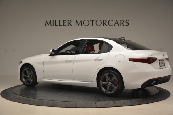 New 2018 Alfa Romeo Giulia Sport Q4 for sale Sold at Pagani of Greenwich in Greenwich CT 06830 5