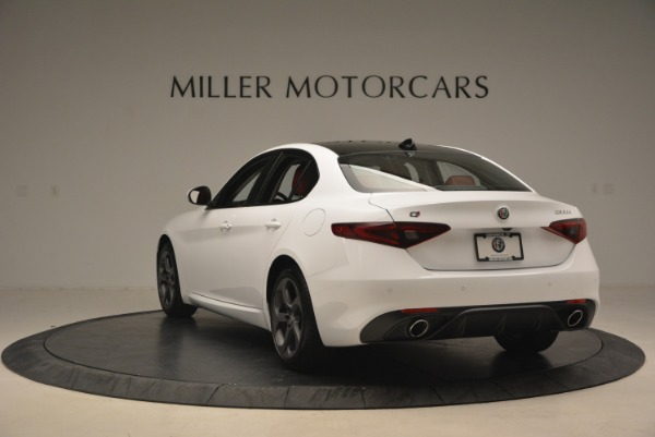 New 2018 Alfa Romeo Giulia Sport Q4 for sale Sold at Pagani of Greenwich in Greenwich CT 06830 6