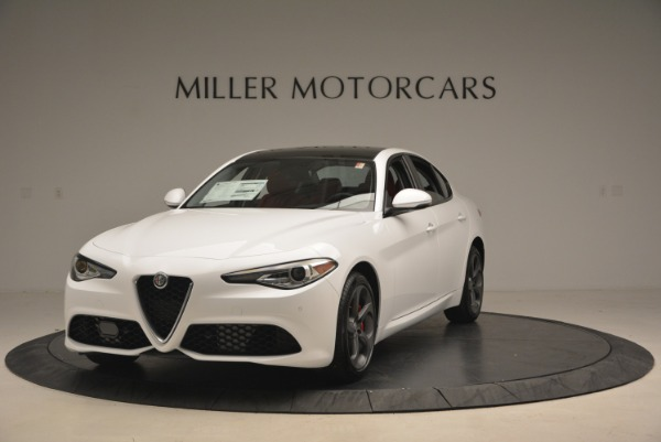 New 2018 Alfa Romeo Giulia Sport Q4 for sale Sold at Pagani of Greenwich in Greenwich CT 06830 1