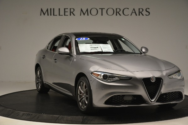 Used 2018 Alfa Romeo Giulia Q4 for sale Sold at Pagani of Greenwich in Greenwich CT 06830 11